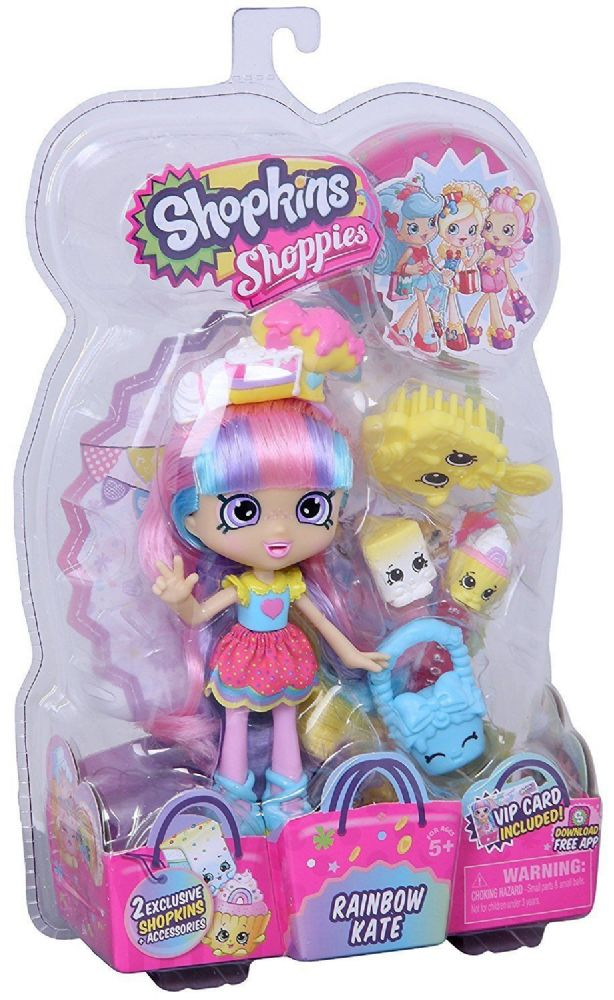Shopkins Doll Shoppies Rainbow Kate